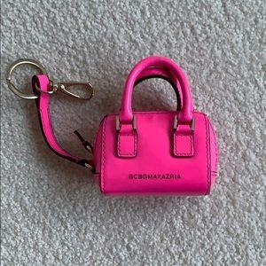 """BCBG mini purse key chain coin purse """"mini edie"""""""